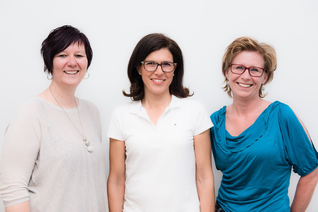Monika Gadner und Ihr Team. Ihre Frauenärztin in Klosterneuburg und Wien. Jetzt können sie auch ein Termin online Buchen