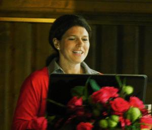 Dr. Monika Gadners Vortrag bei Pink Ribbon